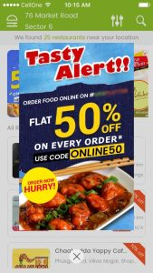 Mart Mobile Marketing Notification